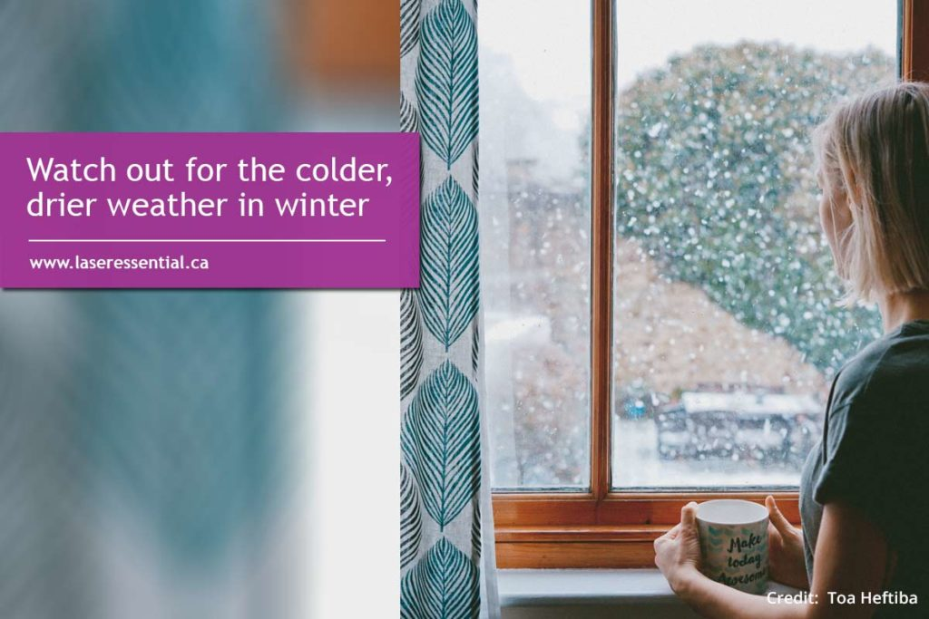 Watch out for the colder, drier weather in winter